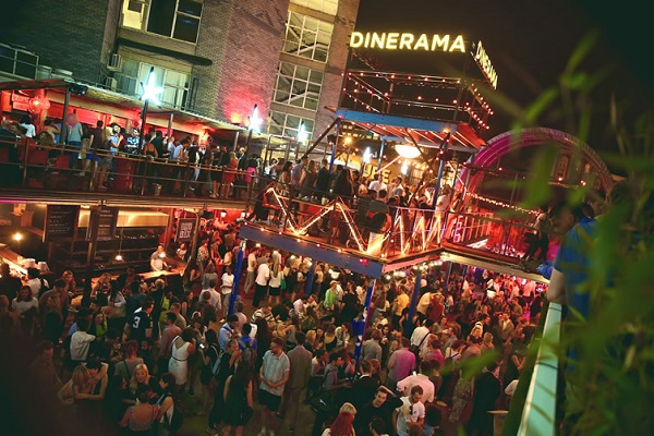 dinerama summer party venue in London