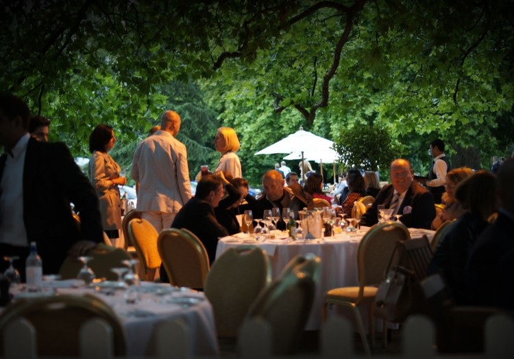 hurlingham club summer party garden venue