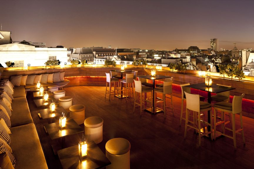 rooftop summer party venues london