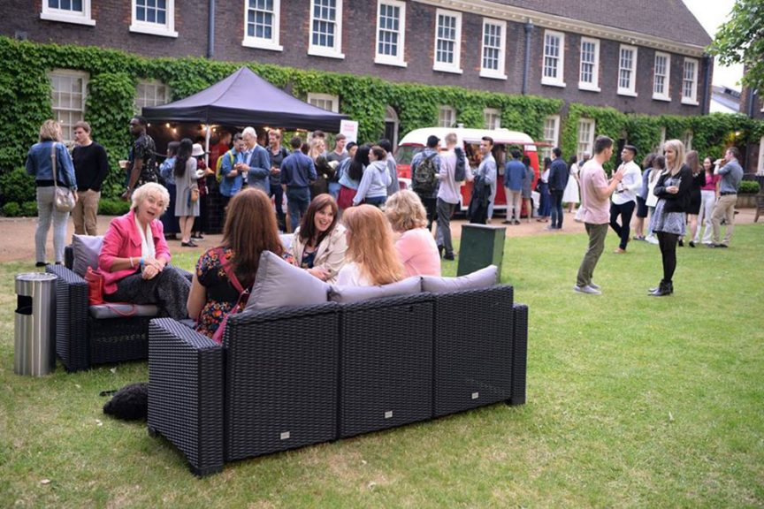 shoreditch gardens summer party london
