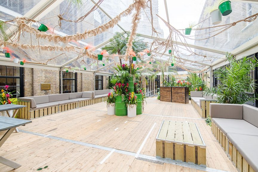the brewery summer party packages london
