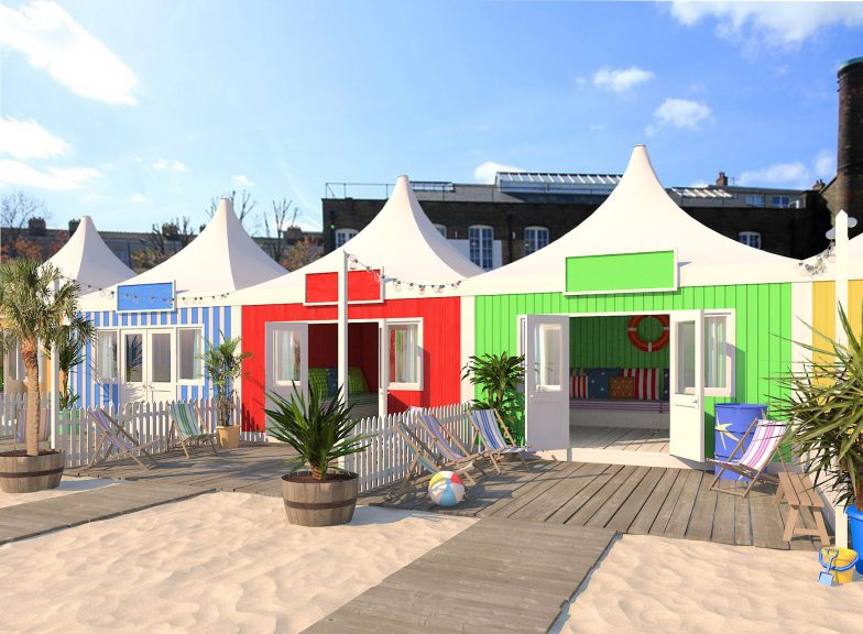 london city beach summer party venue
