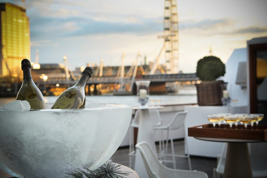 luxury cruise summer party london